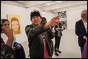 Yoshitomo Nara;  Yoshitomo Nara at Dairy Art Centre, Wakefield St. Russell Sq. London.  Thursday 2 October 2014.
