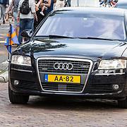 NLD/Utrecht/20170824 -  Koningin Maxima bij viering 650 jaar Bartholomeus Gasthuis, Auto Koningin Maxima, AA-82
