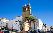 Historic church Iglesia de Nuestro Padre Jesus, Ronda, Spain