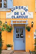L'Auberge de la Clamoux, Villeneuve-Minervois Minervois. Languedoc. France. Europe.