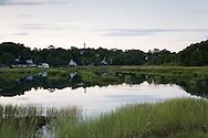 A still summer evening in Wellfleet.