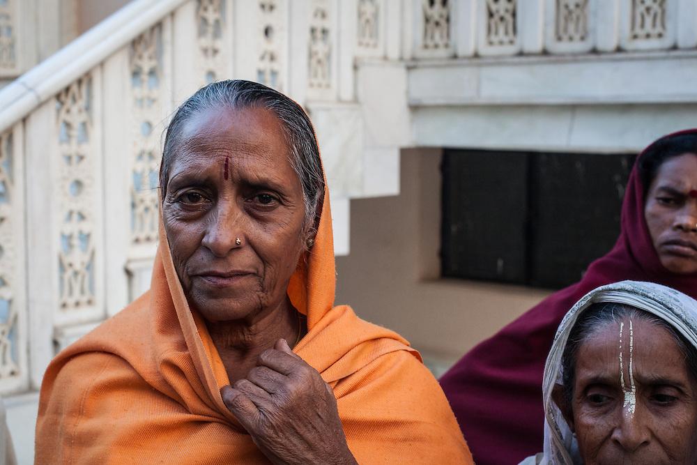 Rambati from nearby Agra home of the Taj Mahal, aged 60.