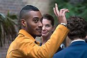 Mercedes Benz FashionWeek / Amsterdam Fashion Week zomer 2014 dag 5 - catwalk Maria Cle Leal in de Gashouder, Amsterdam.<br /> <br /> Op de foto:  Sunnery James