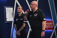Darts referee Paul Hinks during the World Darts Championships 2018 at Alexandra Palace, London, United Kingdom on 27 December 2018.