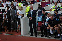 Photo: Tony Oudot. <br /> West Ham United v Manchester City. Barclays Premiership. 11/08/2007. <br /> Manchester City manager Sven Goran Eriksson prepares to take charge of his first premiership match