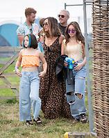 Myleene Klass  at the Big Feastival 2021 on Alex James' Cotswolds farm, Kingham oxfordshire