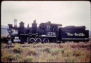 RDS070 RGS, D&RGW 3rd & 4th Div. Ops, Lamy, NM