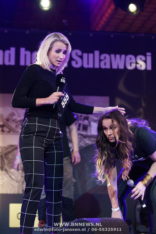 NLD/Hilversum/20181010 - Giro 555 actiedag voor Sulawesi, Dionne Stax met Trijntje Oosterhuis