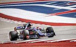 October 20, 2017 - Austin, United States of America - Motorsports: FIA Formula One World Championship 2017, Grand Prix of United States, .#39 Brendon Hartley (NZL, Scuderia Toro Rosso) (Credit Image: © Hoch Zwei via ZUMA Wire)