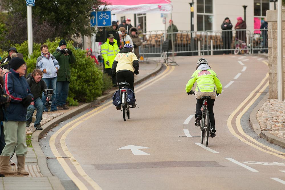 Bontrager Pier Pressure event, Southend, Essex. 11.12.11