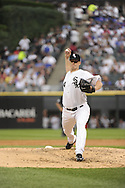 CHICAGO - JUNE 20:  Gavin Floyd #34 of the Chicago White Sox pitches against the Chicago Cubs on June 20, 2011 at U.S. Cellular Field in Chicago, Illinois.  The Cubs defeated the White Sox 6-3.  (Photo by Ron Vesely)  Subject:  Gavin Floyd