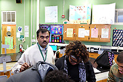 """Mihir Datta , was brought to Durant Mississippi from India to teach in a troubled school district where there is a teacher shortage. He and his wife Chinmoyee, who is also a teacher, have both raised test scores of the students. They do not have enough qualified people to teach; there is a problem finding teachers to teach in this rural Mississippi town. There is a green card backlog and all teachers from India are facing the same problem. """"We do not know what to do, we do not know where to go."""" Datta says. Photo By Karen Pulfer Focht"""