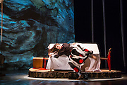 New York premiere of Memory Rings Conceived by Jessica Grindstaff and Erik Sanko; Choreography by Ryan Heffington. Direction and design by Jessica Grindstaff; Original music and puppet design by Erik Sanko; Costume design by Henrik Vibskov; Lighting design by Brian H. Scott; Sound design by Darron L. West; Projection design by Keith Skretch; Dramaturgy by Janice Paran; Creative Producer Mara Isaacs/Octopus Theatricals; Co-produced by Oz Arts Nashville; Co-commissioned by BAM, CAP UCLA, the New York University Abu Dhabi Arts Center and ASU Gammage at Arizona State University