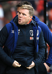 Bournemouth manager Eddie Howe during the Emirates FA Cup, third round match at the Vitality Stadium, Bournemouth.