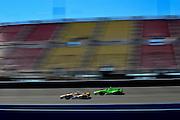 14-15 September, 2012, Fontana, California, USA.Ryan Hunter-Reay (28)  and James Hinchcliffe (27) .(c)2012, Jamey Price.LAT Photo USA