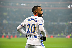 Lyon vs Marseille - Ligue 1 - 22/01/2017