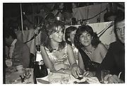 Charles Stopford-Sackville, Ghislaine Maxwell, Julia Verdin, Chelsea arts Ball, Royal Albert Hall, London. 1985
