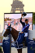 Paris, France : Sameh El Dahan riding Suma's Zorro during the Longines Paris Eiffel Jumping 2018, on July 5th to 7th, 2018 at the Champ de Mars in Paris, France - Photo Christophe Bricot / ProSportsImages / DPPI