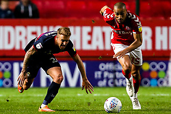 James Coppinger of Doncaster Rovers takes on Darren Pratley of Charlton Athletic - Mandatory by-line: Robbie Stephenson/JMP - 17/05/2019 - FOOTBALL - The Valley - Charlton, London, England - Charlton Athletic v Doncaster Rovers - Sky Bet League One Play-off Semi-Final 2nd Leg