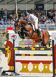Bril Roelof (NED) - Vigaro<br /> Ermelo KWPN Paardendagen 2009<br /> © Hippo Foto - Karin Van Der Meul