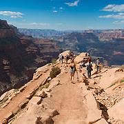 South Kaibab Trail In Grand Canyon National Park, Arizona, USA