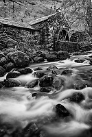 The Old Mill at Coombe Ghyll, Borrowdale, Cumbria (The Lake District), United Kingdom.