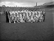 St Brendan Cup Final, .New York v Wexford, .New York Team.14.09.1958, 09.14.1958, 14th September 1958,