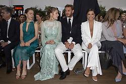 Princess Alexandra of Hanover, Pierre Casiraghi, Beatrice Borromeo, Eva Longoria attend the Alberta Ferretti cruise collection fashion show held at Monaco Yacht Club, Monaco on May 18 , 2109. Photo by ABACAPRESS.COM