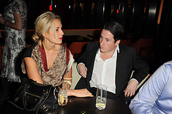 PRINCESS ELISABETH THURN & TAXIS and BLAISE PATRICK at a dinner to celebrate the work of Malaria No More UK held at Hakkasan Mayfair, 17 Bruton Street, London W1 on 16th November 2010.