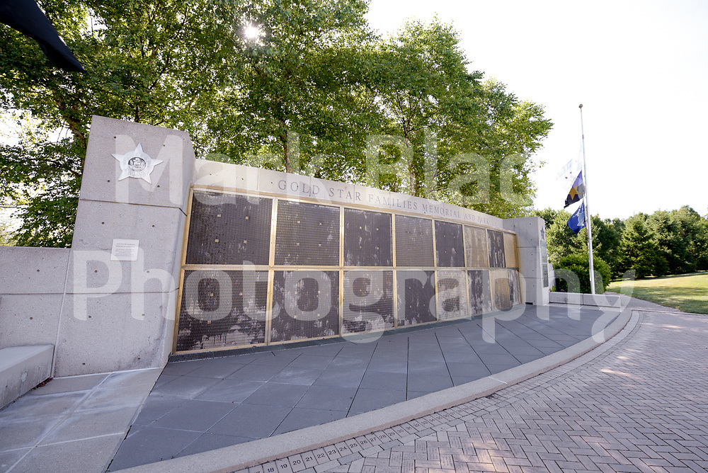 The Gold Star Families Memorial Park, honoring Chicago Police Officers who lost there lives in the line of duty in Chicago.<br /> Photo by Mark Black