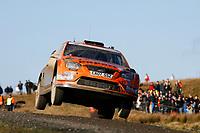 MOTORSPORT - WORLD RALLY CHAMPIONSHIP 2010 - WALES RALLY GB / RALLYE DE GRANDE-BRETAGNE - CARDIFF (GBR) - 11 TO 14/11/2010 - PHOTO : ALEXANDRE GUILLAUMOT / DPPI - <br /> HENNING SOLBERG (NOR) / STEPHANE PREVOT (BEL) - FORD FOCUS RS WRC 08 - STOBART M-SPORT FORD RALLY TEAM - ACTION
