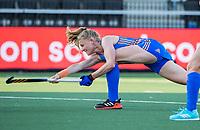 AMSTELVEEN - Caia Van Maasakker (Ned)  tijdens dames hockeywedstrijd , Spanje-Nederland  (1-7),  bij het EK hockey. Euro Hockey 2021.   COPYRIGHT KOEN SUYK