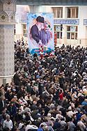 Theran Iran , for the 40th day of the assassination of  Soleimani.  prayer in Imam Khomeini Musalla mosque