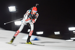 February 11, 2018 - Pyeongchang, Gangwon, South Korea - Dimitar Gerdzhikov of Bulgaria at Mens 10 kilometre sprint Biathlon at olympics at Alpensia biathlon stadium, Pyeongchang, South Korea on February 11, 2018. (Credit Image: © Ulrik Pedersen/NurPhoto via ZUMA Press)
