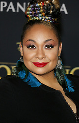 Raven-Symone at the World premiere of 'The Lion King' held at the Dolby Theatre in Hollywood, USA on July 9, 2019.