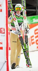 19.03.2011, Planica, Kranjska Gora, SLO, FIS World Cup Finale, Ski Nordisch, Skiflug Teambewerb, im Bild Peter Prevc (SLO) // Peter Prevc (SLO) during team event of the Ski Jumping World Cup finals in Planica, Slovenia, 19/3/2011. EXPA Pictures © 2011, PhotoCredit: EXPA/ J. Groder