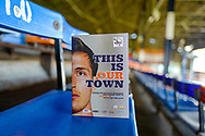 The match day programme ahead of the EFL Sky Bet League 1 match between Luton Town and Coventry City at Kenilworth Road, Luton, England on 24 February 2019.