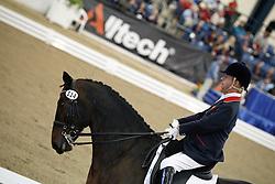 Lee Pearson (GBR) and Gentleman winning the gold medal Para Equestrian Grade Ib<br /> Alltech FEI World Equestrian Games <br /> Lexington - Kentucky 2010<br /> © Dirk Caremans