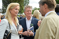 BEN & LUCY SANGSTER at Goffs London Sale held at The Orangery, Kensington Palace, London on 15th June 2015.