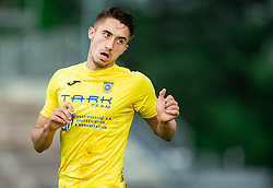 Matija Rom of Domzale during football match between NK Triglav Kranj and NK Domzale in 35th Round of Prva liga Telekom Slovenije 2018/19, on May 22nd, 2019, in Sports park Kranj, Slovenia. Photo by Vid Ponikvar / Sportida