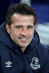 Everton manager Marco Silva before the SportPesa Trophy match at Goodison Park, Liverpool. PRESS ASSOCIATION Photo. Picture date: Tuesday November 6, 2018. See PA story SOCCER Everton. Photo credit should read: Richard Sellers/PA Wire