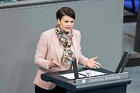 13 FEB 2020, BERLIN/GERMANY:<br /> Katrin Staffler, MdB, CSU, Sitzung des Deutsche Bundestages, Plenum, Reichstagsgebaeude<br /> IMAGE: 20200213-01-045