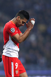 December 6, 2017 - Porto, Porto, Portugal - Radamel Falcao forward of AS Monaco FC score a goal and did not celebrate and came to cry during the UEFA Champions League Group G match between FC Porto and AS Monaco FC at Dragao Stadium on December 6, 2017 in Porto, Portugal. (Credit Image: © Dpi/NurPhoto via ZUMA Press)