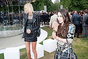 SOPHIA HESKETH; TALLULAH ORMSBY-GORE, 2009 Serpentine Gallery Summer party. Sponsored by Canvas TV. Serpentine Gallery Pavilion designed by Kazuyo Sejima and Ryue Nishizawa of SANAA. Kensington Gdns. London. 9 July 2009.