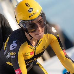 11-03-2021: Wielrennen: Healthy Ageing Tour: Lauwersoog. <br />Anna Henderson