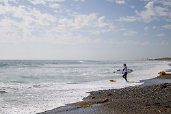 September 12, 2017 - Lakey Peterson of the USA before Heat 2 of Round Three of the Swatch Pro at Trestles, CA, USA...Swatch Pro 2017, California, USA - 12 Sep 2017 (Credit Image: © Rex Shutterstock via ZUMA Press)