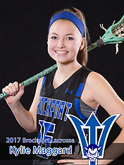 Brockport Lady LAX Banners