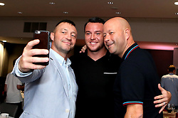 Lee Tomlin of Bristol City poses for a selfie with guests during the Lansdown Club event - Mandatory by-line: Robbie Stephenson/JMP - 06/09/2016 - GENERAL SPORT - Ashton Gate - Bristol, England - Lansdown Club -