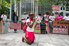 2019-07-10 Home Office protest for Ugandan lesbian PN
