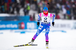 March 8, 2019 - –Stersund, Sweden - 190308 Svetlana Mironova of Russia competes in the Women's 7.5 KM sprint during the IBU World Championships Biathlon on March 8, 2019 in Östersund..Photo: Johan Axelsson / BILDBYRÃ…N / Cop 245 (Credit Image: © Johan Axelsson/Bildbyran via ZUMA Press)